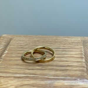 Michael Kors interlocking rings